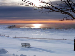Winter Beach - Color