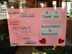ButterfieldsSign