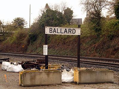 Ballard station sign