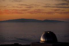 Dome at sunset (Rob Millenaar) Tags: travel sunset landscape hawaii scenery maui observatory haleakala bigisland maunakea