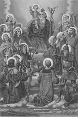 Die heiligen vierzehn Nothelfer
