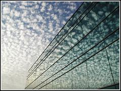 Vanidad Atmosferica - Atmospheric Vanity (ifoto.cl) Tags: chile santiago arquitectura edificio cielo nubes espejos vanidad thok thokrates lparch atmosferica