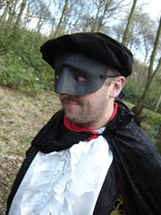 Who is that masked man ? (Monsterbase) Tags: sas dungeons