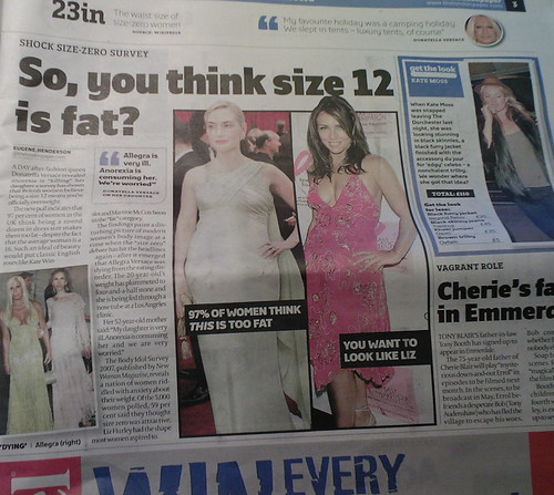 3cb02859f2 97% of British women say Size 12 is too fat - The F-Word