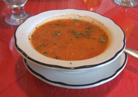 Husnu's lentil soup