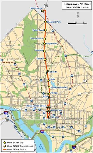 Metro Extra Map