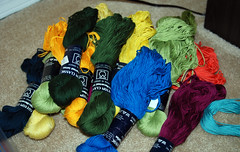 Unwound Yarn
