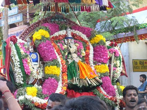 Arubathumoovar Festival - 31.03.2007 at Mylapore,Chennai