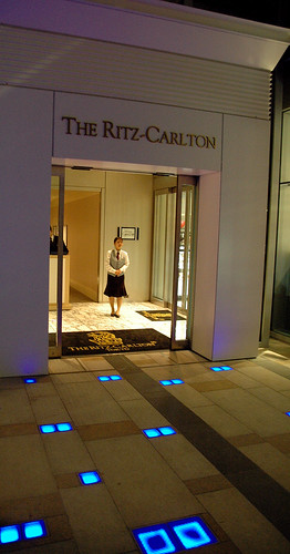 Ritz Carlton Entrance at MidTown Roppongi