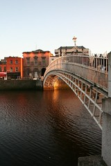 Bridge and the Liffey
