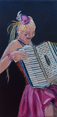 Accordian Girl