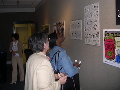 OtherHeroesOpening05 (otherheroes) Tags: eye art comics other african exhibition american comix heroes trauma