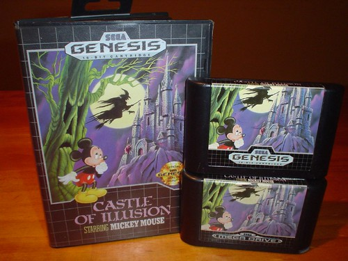 [Genesis/Megadrive] Castle of Illusion Starring Mickey Mouse (1990)