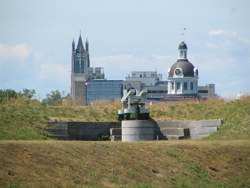 The Skyline of Kingston from the former home of Fort Frederick