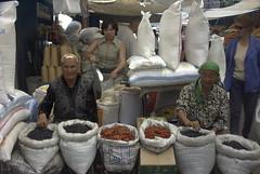 Working in Almaty market, Kazakhstan