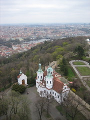 View from the Petrin Tower
