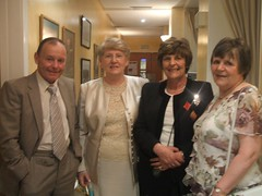 Billy, Aunt Ann, Maureen & my mum