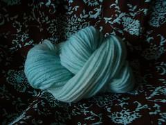 Aqua Yarn + Dress
