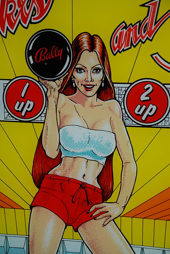 BALLY BABE by Pinball Mafia Productions.