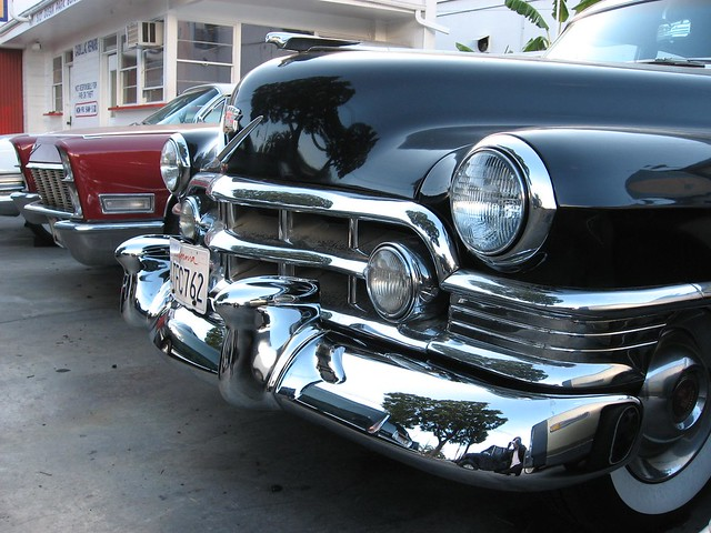 cars la cadillac 1950 sixtyspecial