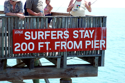 No surfing allowed