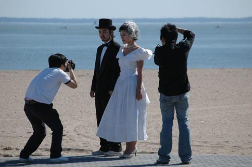 Coney Island Wedding