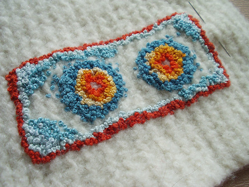 french knot work