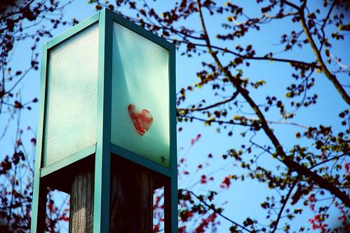 heart on a box