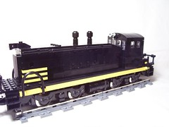 NP SW1200 ([jaster]) Tags: train lego northernpacific moc emd sw1200