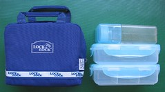Lock & Lock insulated bento set