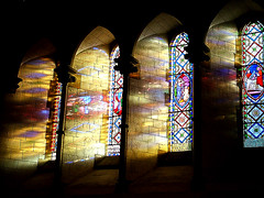 Washed with colour (jo92photos) Tags: light church window colours shadows stainedglass super s7000 standrews bradfield supershot allrightsreserved christened flickrsbest katemiddleton abigfave supershots myfuji amazingshots superhearts jalalspagescoloursoflifealbum theunforgetablepictures bbcbritaininpictures jo92 jo92photos