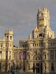 Palacio de Comunicaciones (LoboEstepario) Tags: madrid cibeles