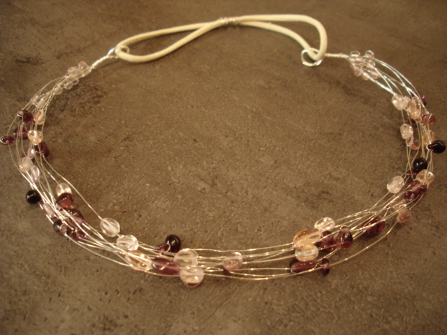 Roosa-lilla peavõru