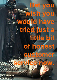 Service client ecommerce (CRM): picture Misleading Customer Service Kills Your Business by libraryman