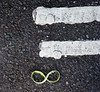 Equals Infinity (Nad) Tags: road lines tarmac paint infinity equals tar