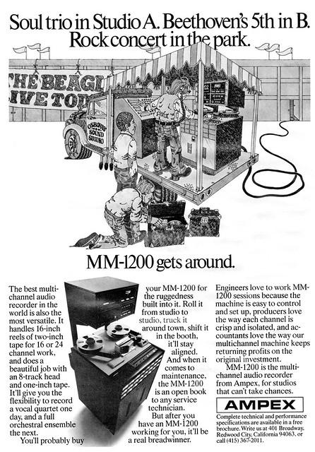 Ampex MM-1200 1976