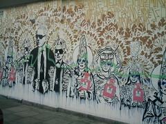 London Street Art is endless (koothenholly) Tags: endless endlesstheartist brandwars nottinghill portobelloroad london londonstreetart endlessartist oxfordgardens