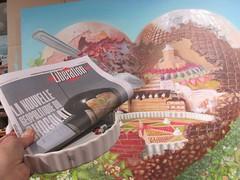 La nouvelle géopolitique du Chocolat (Pierre Marcel) Tags: chocolat libération rocheguyon rhinolophe château yves mûres îledefrance seine cuillère dessert délice jardin potager