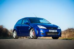 Poster car (Bennett Photography - jonyb466) Tags: focus rs mk1 blue wheel alloy ford fast hot hatch