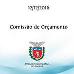 Comissão de Orçamento 12/12/2016