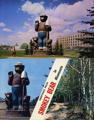 Smokey the Bear postcards