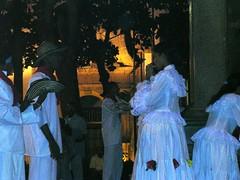 Danza afrocaraibica afroamericana cumbia Cartagena de Indias Colombia foto di viaggio blog America Latina