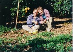 Mig som ung frugtplukker i Israel. Copy right FrkBjerre