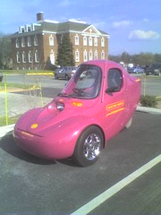 An Electric 3-Wheeled Car