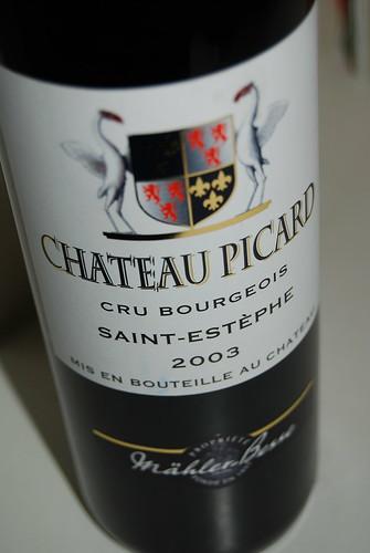 Chateau Picard 2003 (Saint-Estephe