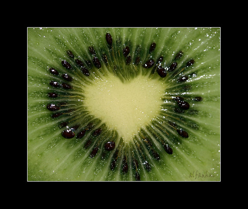 Kiwi's heart  (or kiwifruit's heart :)
