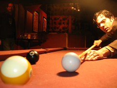pool table concentration