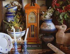 Mini Grandfather Clock (Zeetz Jones) Tags: nikond50 homedecor grandfatherclock easysunday sundayproverbsandquotations