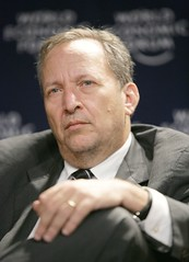 Larry Summers at the World Economic Forum Annual Meeting in Davos, 2007