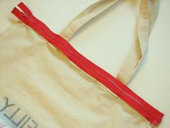 pinning the zipper